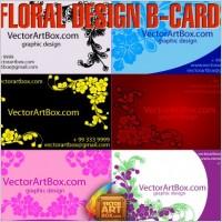 Link toFloral design b-cards
