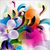 Link toFloral ornament vector illustration