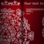Link toFloral ornate invitation card vector 03 free