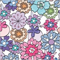 Link toFloral pattern vector graphic