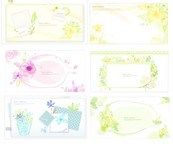 Link toFloral photo frame vector graphics