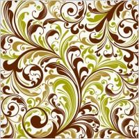 Link toFloral swirl vector art