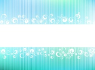 Link toFloral swirls background vector free