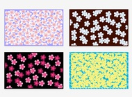 Link toFloral vector backgrounds free