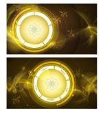 Link toFlow ring banner vector