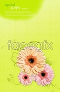 Link toFlower background 2 psd