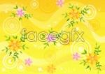 Link toFlower background vector 1