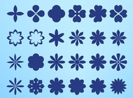 Link toFlower blossom icons vector free