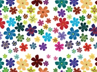 Link toFlower blossoms pattern vector free
