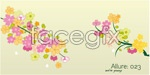 Link toFlower branches-vector