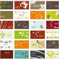 Link toFlower card background vector