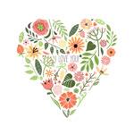 Link toFlower combination love vector