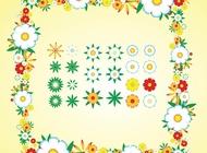Link toFlower composition design vector free