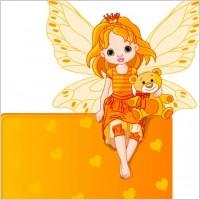 Link toFlower fairy 03 vector