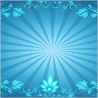 Link toFlower frame sunburst background