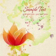 Link toFlower illustrations vector background 19