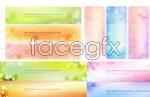 Link toFlower pattern banner vector
