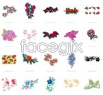 Link toFlower pattern theme vector