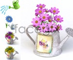 Link toFlower pot psd
