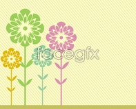 Link tovector format eps background card shade Flower