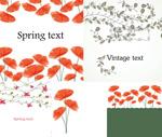 Link toFlower vine decorative illustration vector