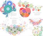 Link toFlower vine design illustration vector
