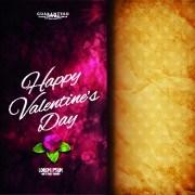 Link toFlower with vintage valentine day background vector 04
