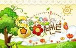 Link toFlowers and creative templates 2 psd