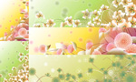 Link toFlowers and floral designs vector