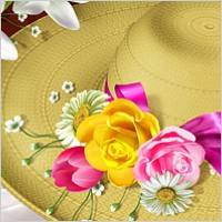Link toFlowers and hats