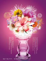 Link toFlowers and vases psd