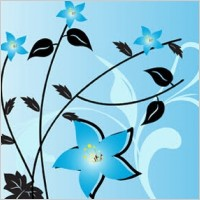 Link toFlowers free vector background