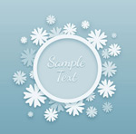 Link toFlowers rounded borders vector