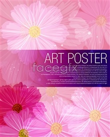 Link toFlowers shaded backgrounds psd source