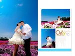Link toFlowers, wedding template psd
