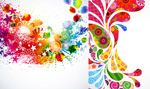Link toFlowery patterned background vector