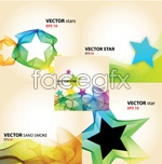 Link toFlowing bright background vector