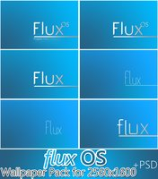 Link toFlux os wallpaper pack for 2560x1600 +psd