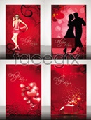 Link toFlyer for valentine's day vector