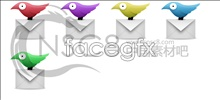 Link toFlying pigeon mail desktop icons