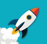 Link toFlying rockets vectors
