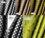 Link toFold the cloth zipper background vector