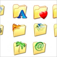 Link toFolder icon set icons pack