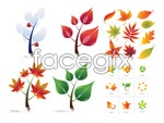 Link toFoliage vector material