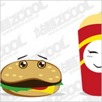 Link toFood and drink lovely vector material