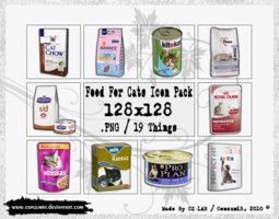 Link toFood for cats icons pack