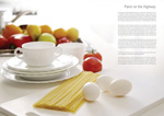 Food health brochure psd