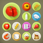 Link toFood icon vector