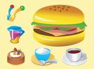 Link toFood vector icons free