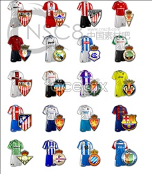 Football jersey icons